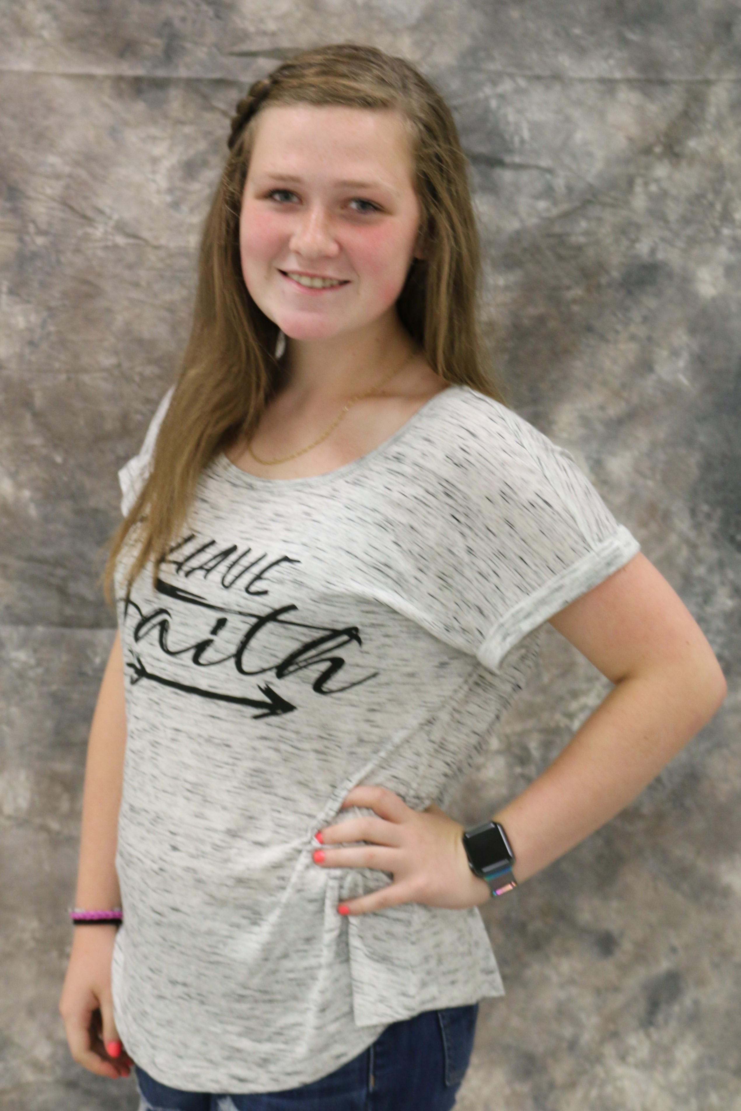 Jr Miss 12-15 Contestant - Allie Pruiett 15