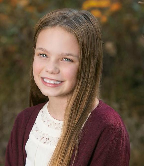 Jr Miss 9-11 Contestant - Kenadie Reese Houchins 11