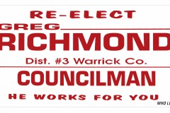 Greg Richmond County Council