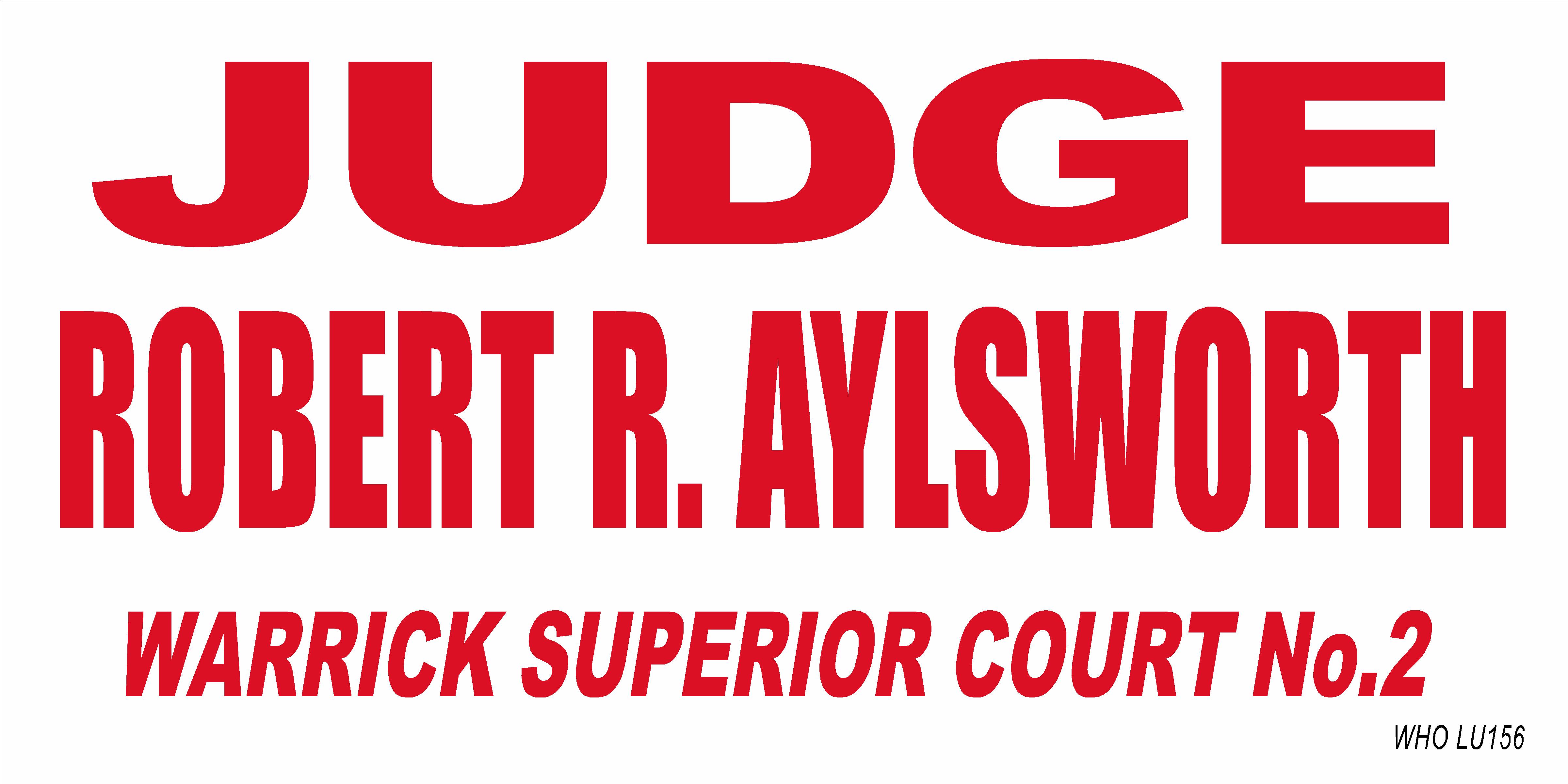 Judge Aylsworth