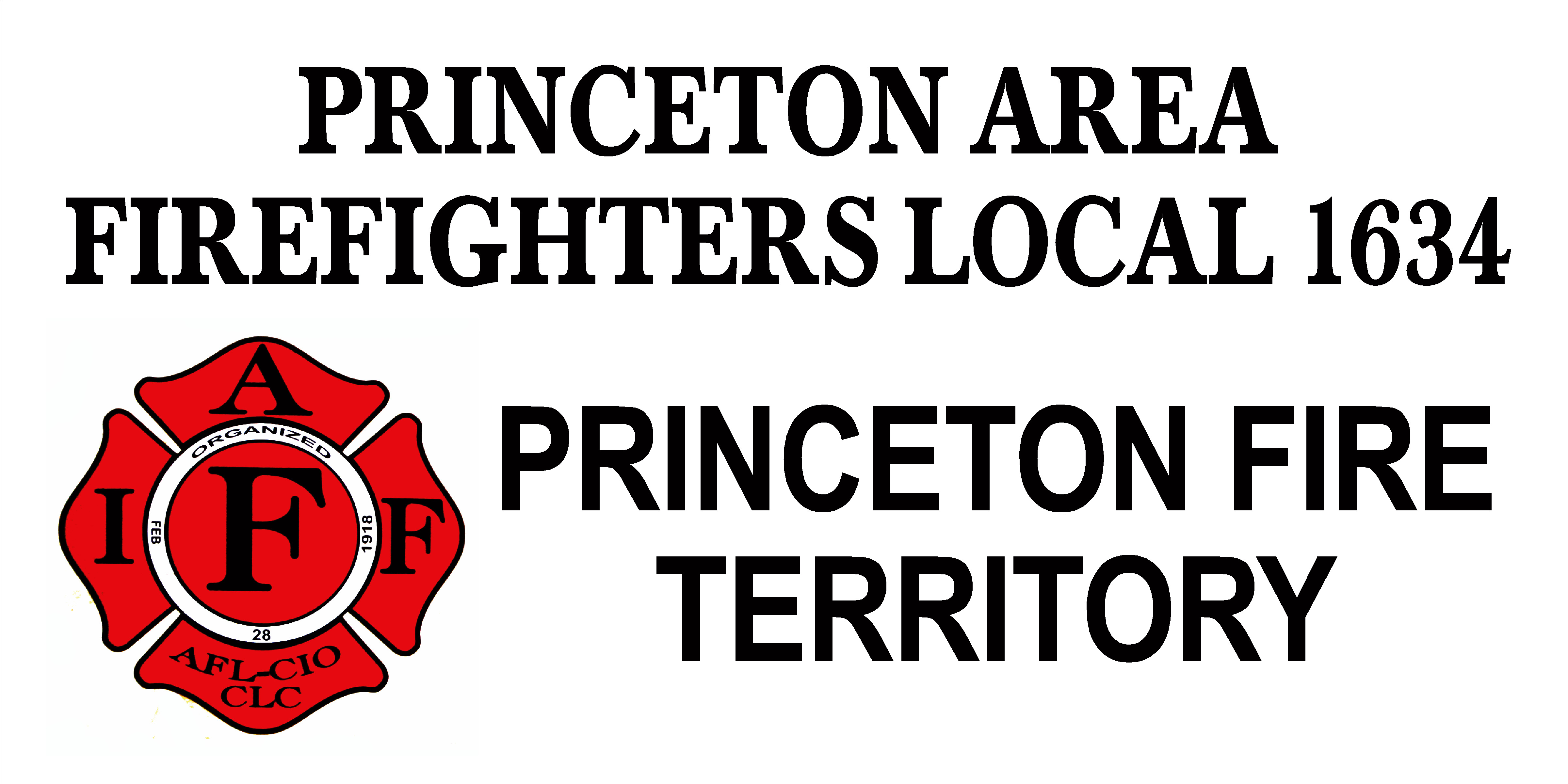Princeton Firefighters #1634