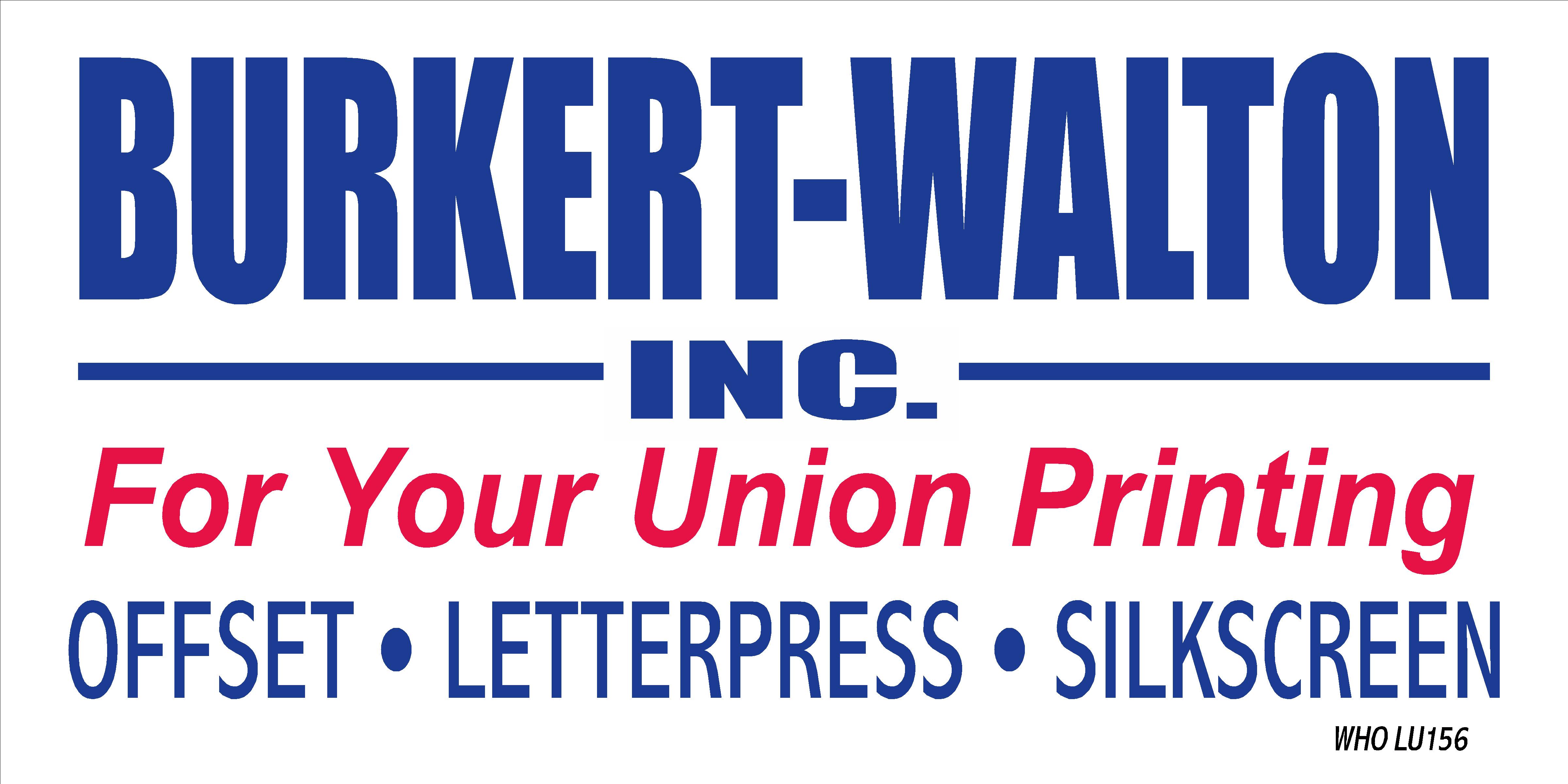 Burkert-Walton-Printing